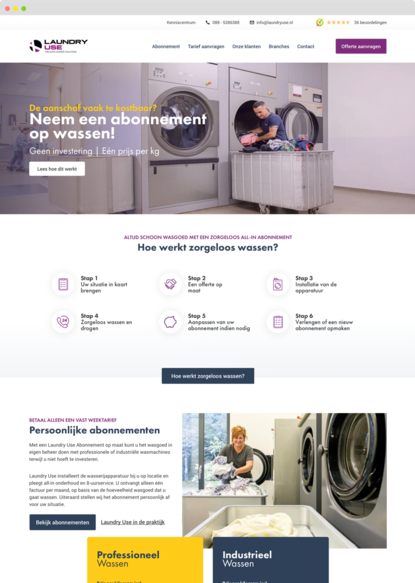 Laundryuse redesign is live